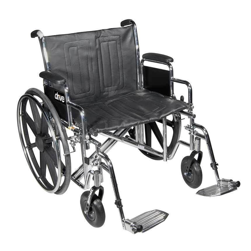 Wheelchairheavy Dutybariatricblack20in Drive Medical