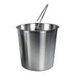 13 qt Drip Bucket, Stainless steel