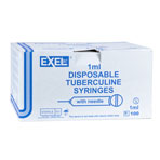 SYRINGE,1CC,27X1/2,TB,100/BOX, EXEL