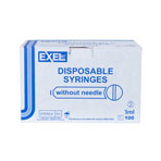 SYRINGE,1CC TUBERCULIN, LS, EXEL  100/box