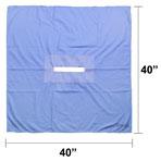 Fenestrated Drape, 40-in x 40-in, 10-in x 1.25-in Rectangle Opening, each
