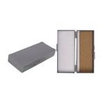 BOX,MICROSLIDE,50-PLACE,CORK LINED,GRAY,EACH