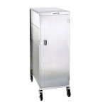 """CART,MEAL TRAY,COMPACT,20 TRAY,2DR 1F/1B WT 145 LB,21 5/8 X 31 1/4 X 70 1/4"""""""