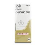 SUTURE,CHROMIC GUT,2-0,CT-2,36/BX