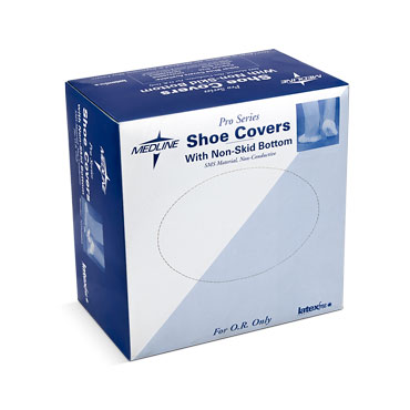 COVER,SHOE,3-LAYER,NONSKID,BLUE,XLG,100 EA/BX