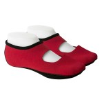 FOOTWEAR,NUFOOT,MARY JANE,RED,LARGE,PAIR