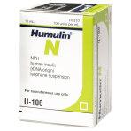 RX HUMULIN-NPH INSULIN U-100,10ML