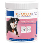 PHV MOVOFLEX VIRBAC, SOFT CHEWS (JOINT SUPPORT) FOR LARGE DOGS 80LBS AND UP,60/BTL
