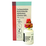 RX CYCLOPENTOLATE 1%  OPH SOLN, 2ML