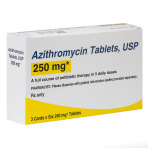 RX AZITHROMYCIN 250MG 3X6 TABS(ZPAC)