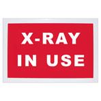 SIGN, X-RAY ROOM, ENGLISH, BLACK