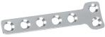 "Plate, hybrid ""T"", 2.7mm head & 3.5mm shaft"