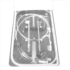 IV CATHETER,CENTRAL VENOUS,7fr x 20cm,DOUBLE LUMEN