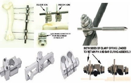 CLAMP, SMALL LINEAR HOOK-ON, FOR 1.5-2.5 PINS