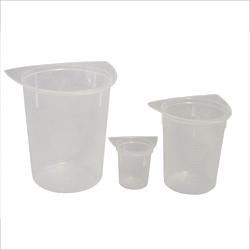 Beaker, 3 corner, 400ml, 10 pack