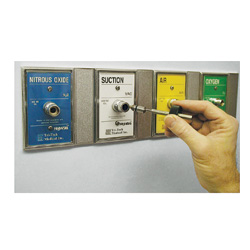Nitrous Oxide chemtron wall outlet