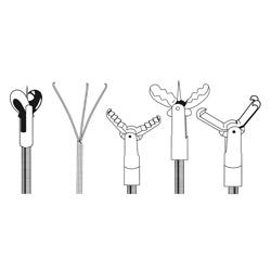 Endoscope Flexible endoscope complete,9.9mm x125cm