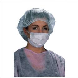 Mask, surgical procedure w/ ear loops, 600/CS