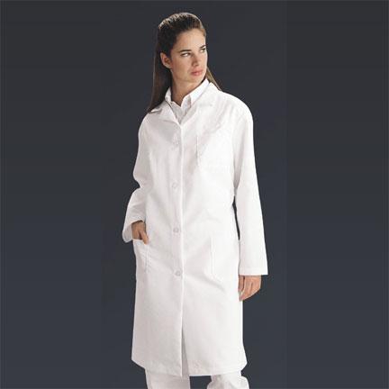 Lab Coats & Miscellaneous : Ladies Full Length Lab Coat White