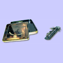 STERILIZING BOX W/1800 SPRING HOLDER,EA