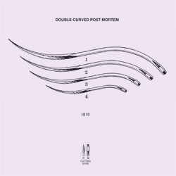 NEEDLES, SUTURE, NON-STERILE, DOUBLE CURVED CUTTING EDGE, SIZE 3, 12/PK