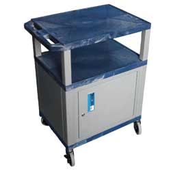 ROLLING CART FOR PEDIATRIC TRAY SCALE, LOCKABLE CABINET