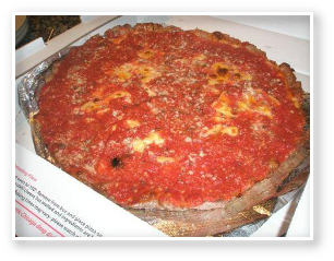 Lou Malnati's Crustless Pizza
