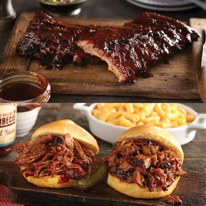 Real Urban BBQ Brisket, Pulled Pork, Ribs