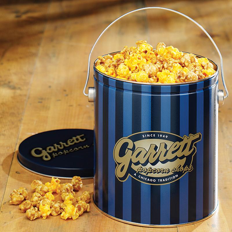 Garrett Popcorn Classic Tin
