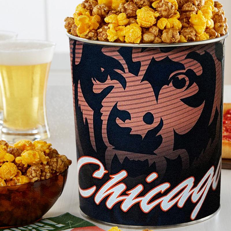 Garrett Popcorn Chicago Bears Classic Tin