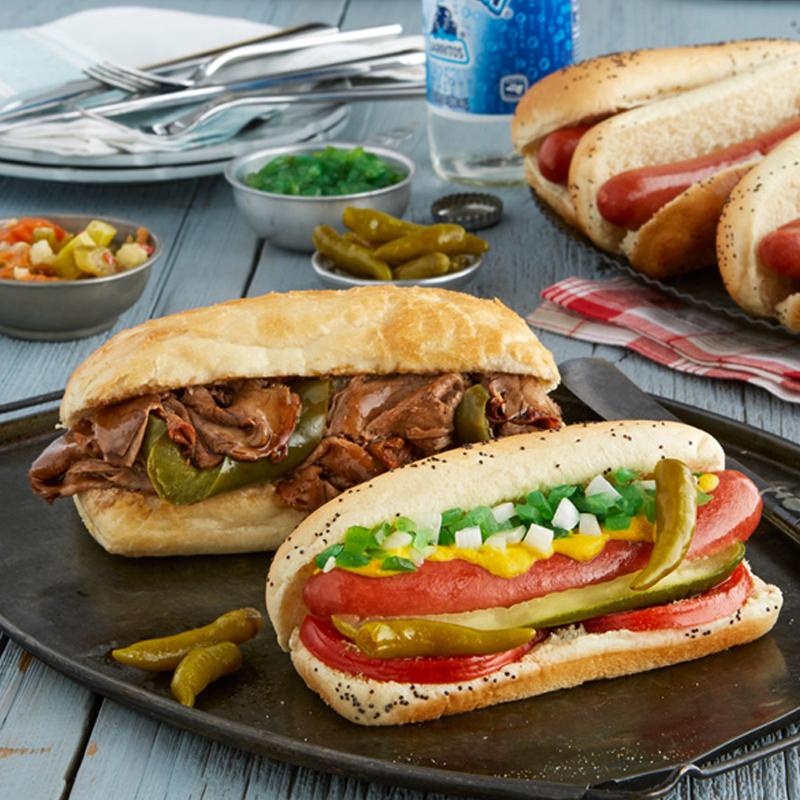 Portillo's Italian Beef Kit & Hot Dog Kit Combo
