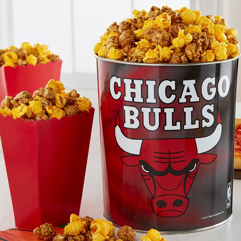 Garrett Popcorn Chicago Bulls Classic Tin