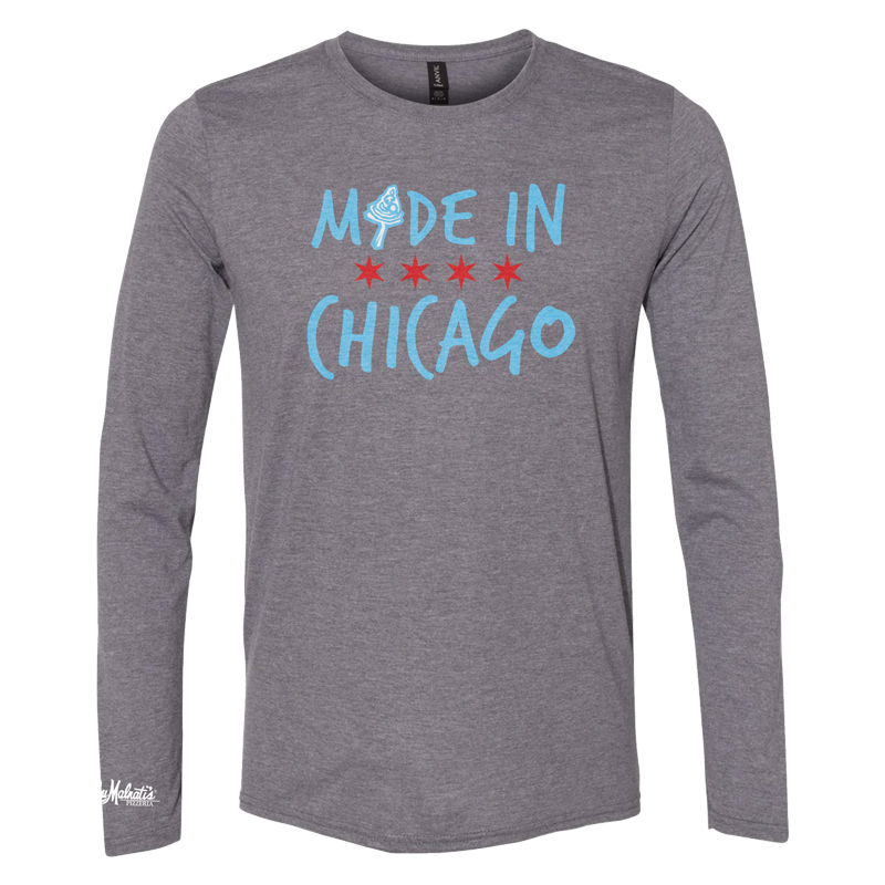 Lou Malnati's Made in Chicago Long Sleeve T-Shirt