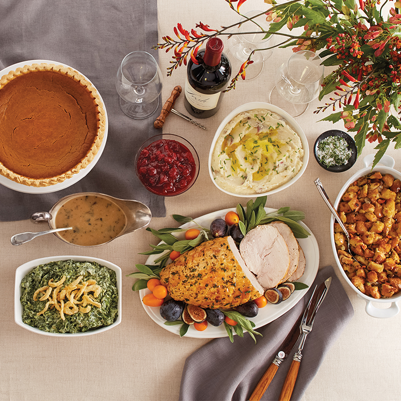 Wildfire Thanksgiving Feast