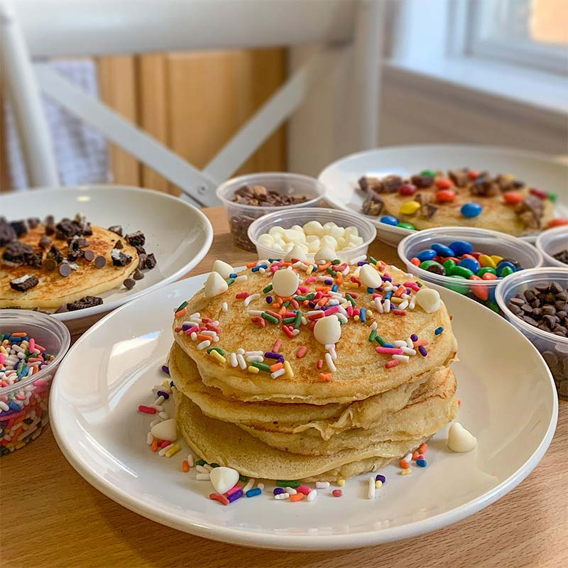 WynBurg Cafe DIY Pancake Kit