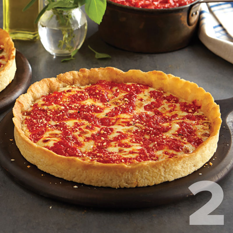 2 Lou Malnati's Gluten Free Deep Dish Pizzas
