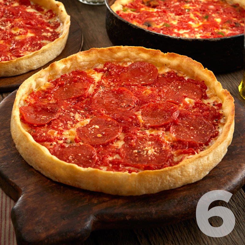6 Lou Malnati's Gluten Free Deep Dish Pizzas