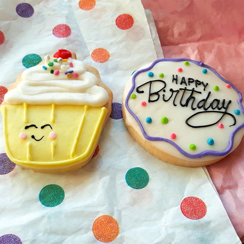 Deerfields Bakery Birthday Cookies Add-on