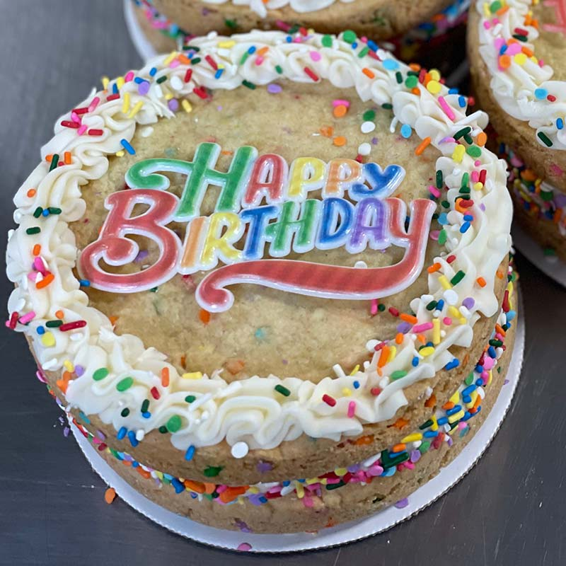 Sweet Thing Birthday Confetti Cookie Cake