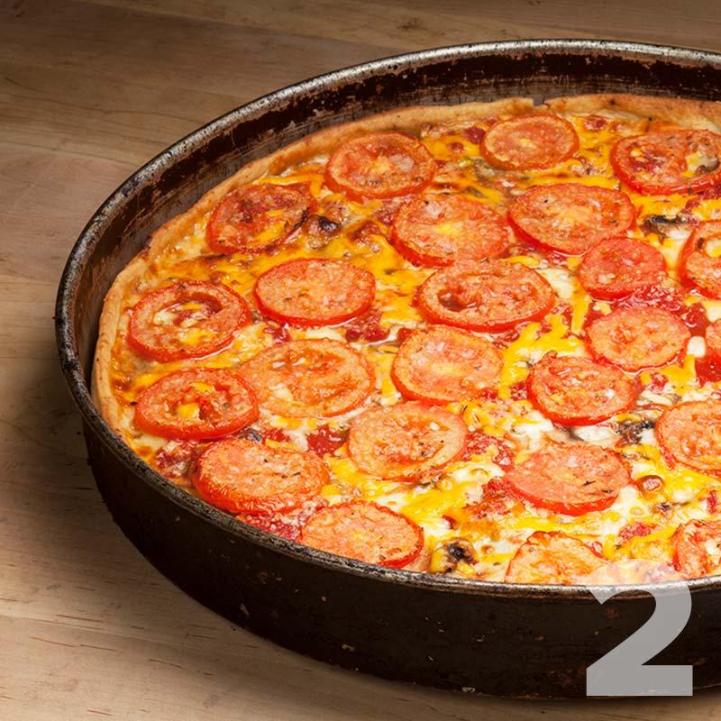2 Lou Malnati's Pizzas