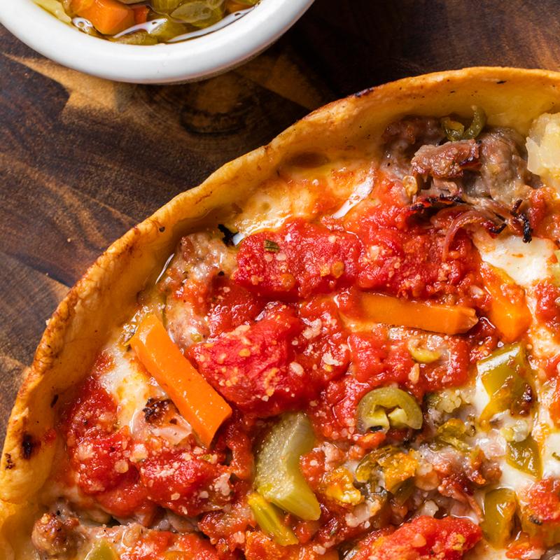 4 Lou Malnati's Pizzas
