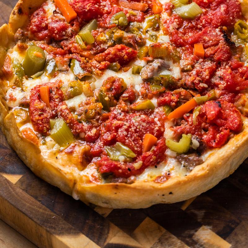 6 Lou Malnati's Pizzas