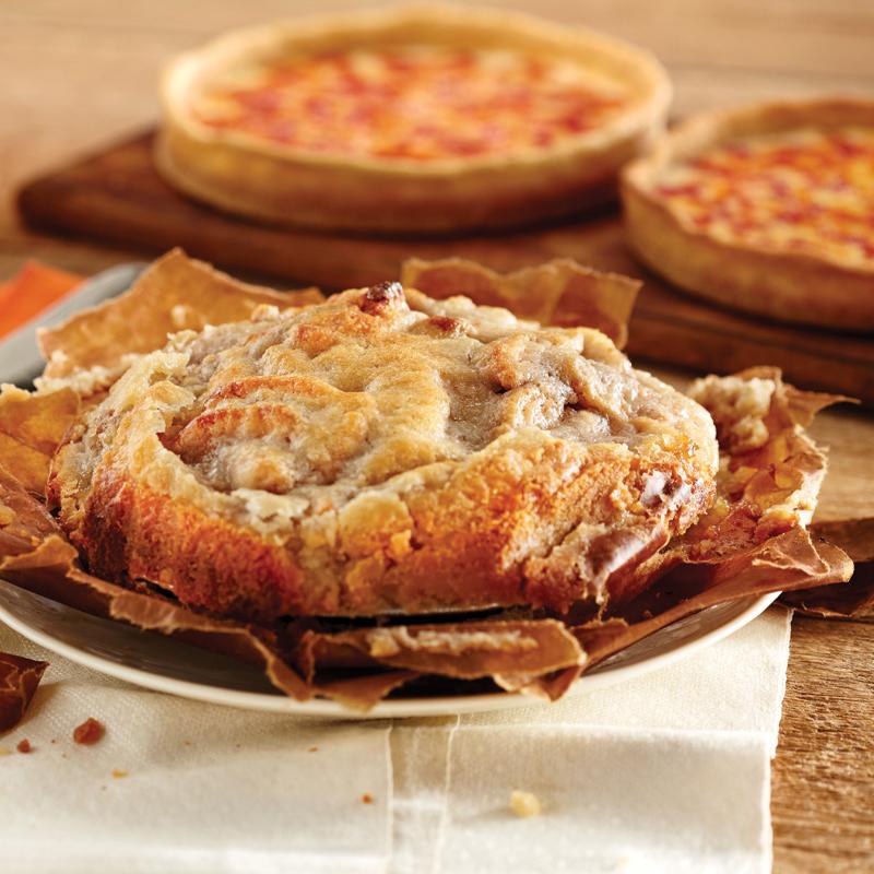 Long Grove Apple Pie & 2 Lou's Pizzas