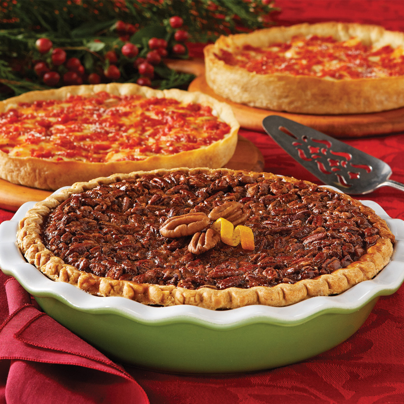 Wildfire Pecan Pie & 2 Lou's Pizzas