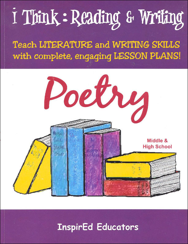 i Think: Reading & Writing, Poetry Activity Book