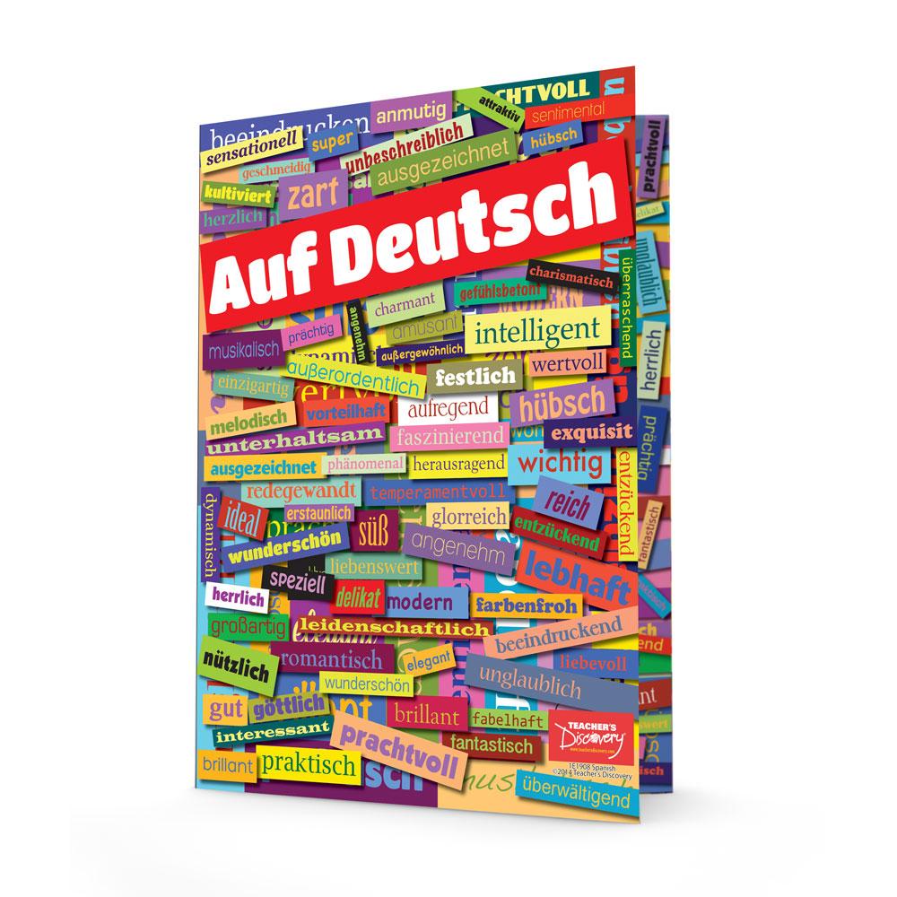 German Adjectives Folders