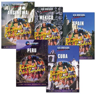 Beyond Borders Spanish Set of 5 DVDs