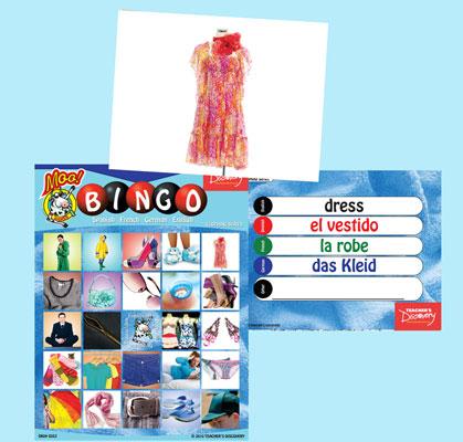 Clothing Bingo & Flashcards