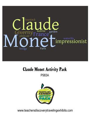 Claude Monet Activity Packet Download