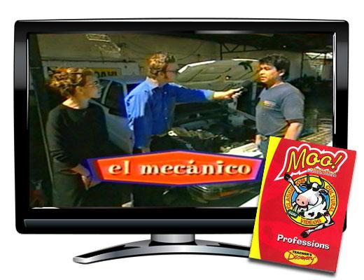 Moo!™ Professions Spanish Video